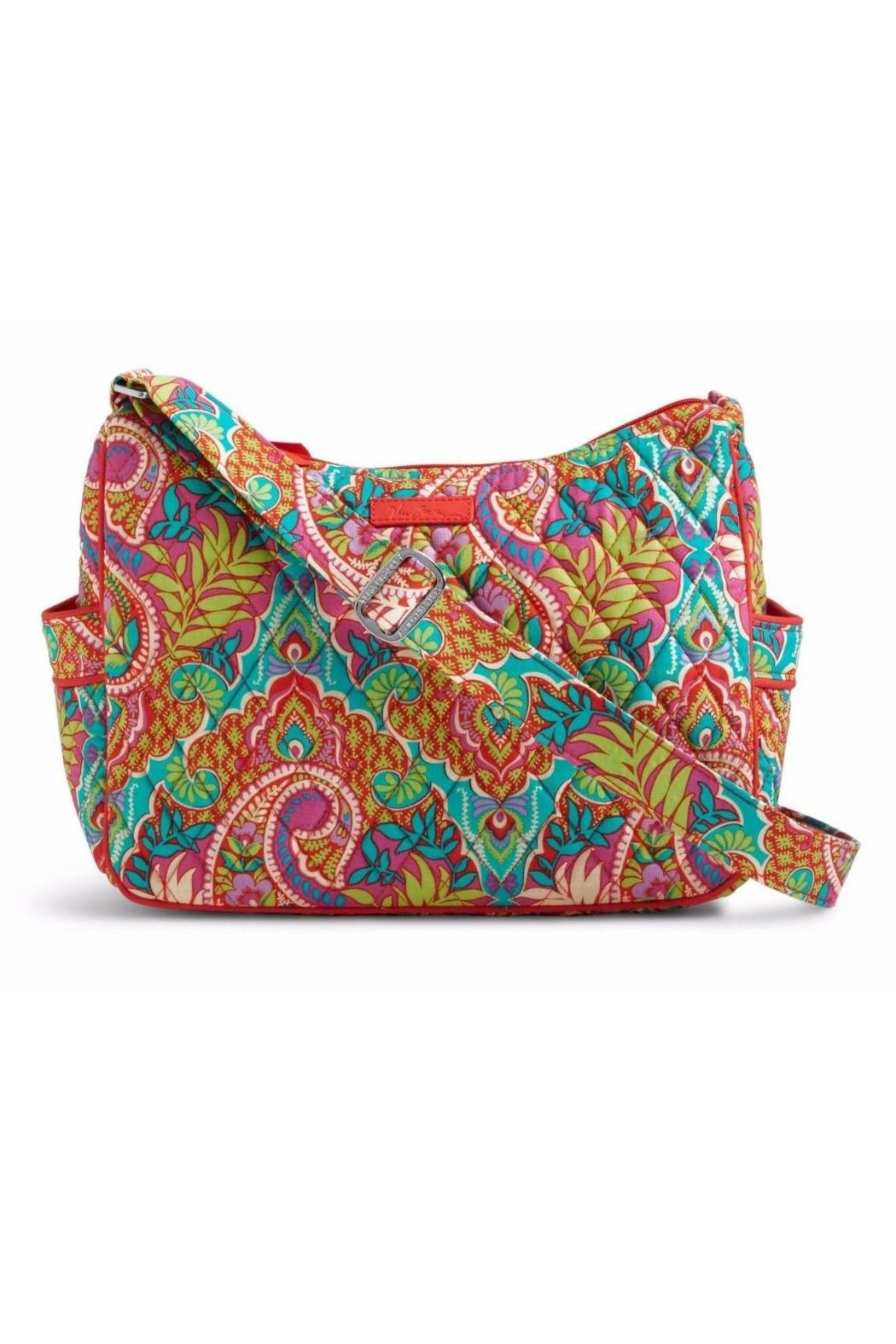 Vera Bradley Paisley Paradise On-The-Go - Front Cropped Image