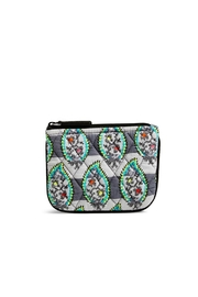 Vera Bradley Paisley Stripes Coin-Purse - Front cropped
