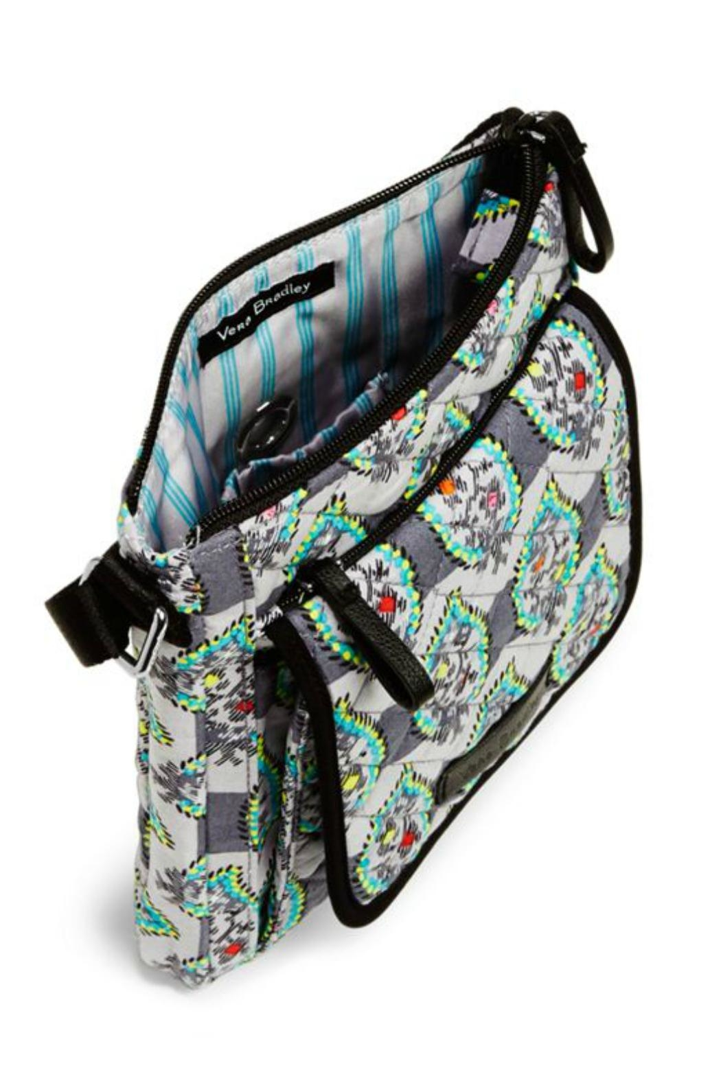 Vera Bradley Paisley Stripes Mini-Hipster - Side Cropped Image