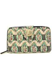 Vera Bradley Paisley Turnlock Wallet - Product Mini Image