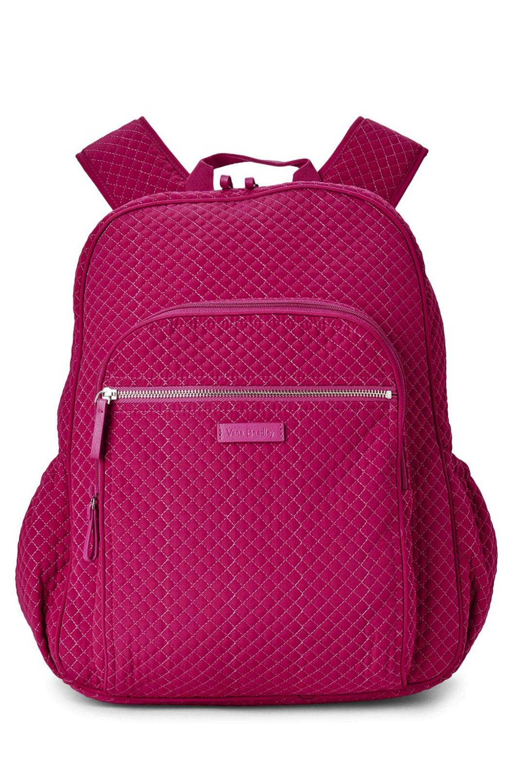 Vera Bradley Passion Pink Campus-Backpack - Main Image