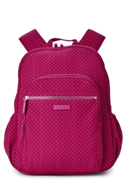Vera Bradley Passion Pink Campus-Backpack - Front cropped