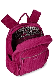 Vera Bradley Passion Pink Campus-Backpack - Front full body