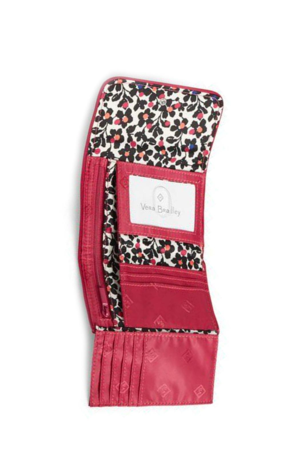 Vera Bradley Passion Pink Riley-Wallet - Front Full Image