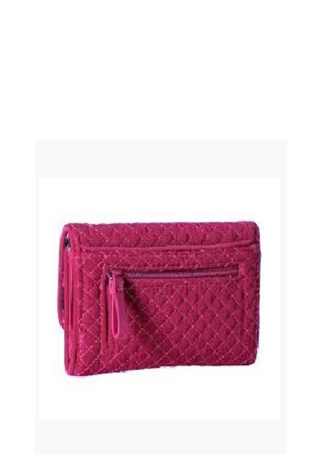 Vera Bradley Passion Pink Riley-Wallet - Side Cropped Image