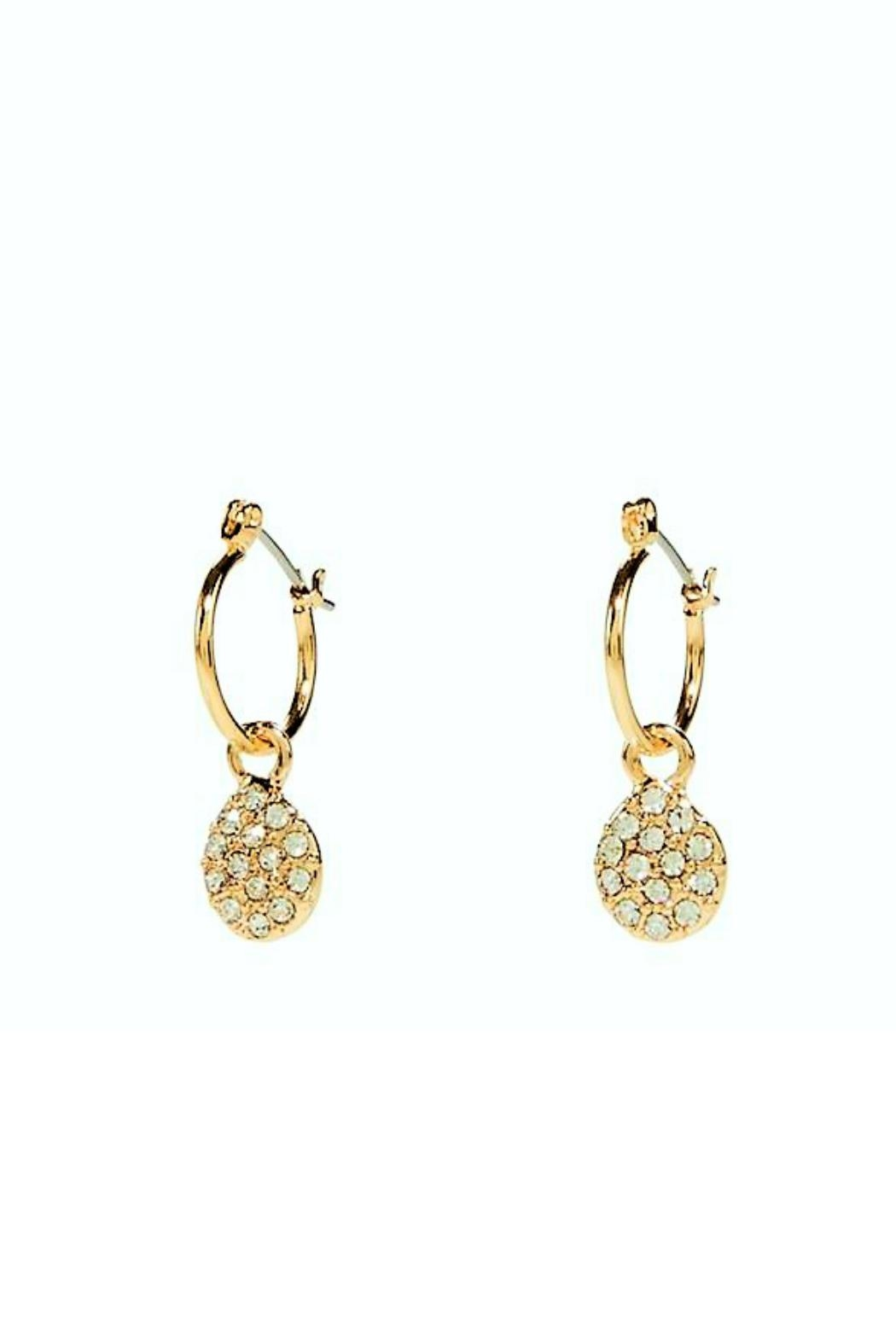 Vera Bradley Pave Drop Earrings Front Cropped Image