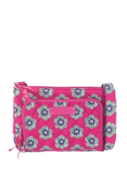 Vera Bradley Pink Swirl Flowers-Little-Hipster - Front cropped