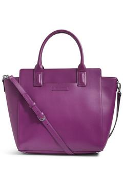 Shoptiques Product: Plum Faux Leather Bag
