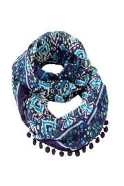 Vera Bradley Ink Blue Infinity-Scarf - Product Mini Image