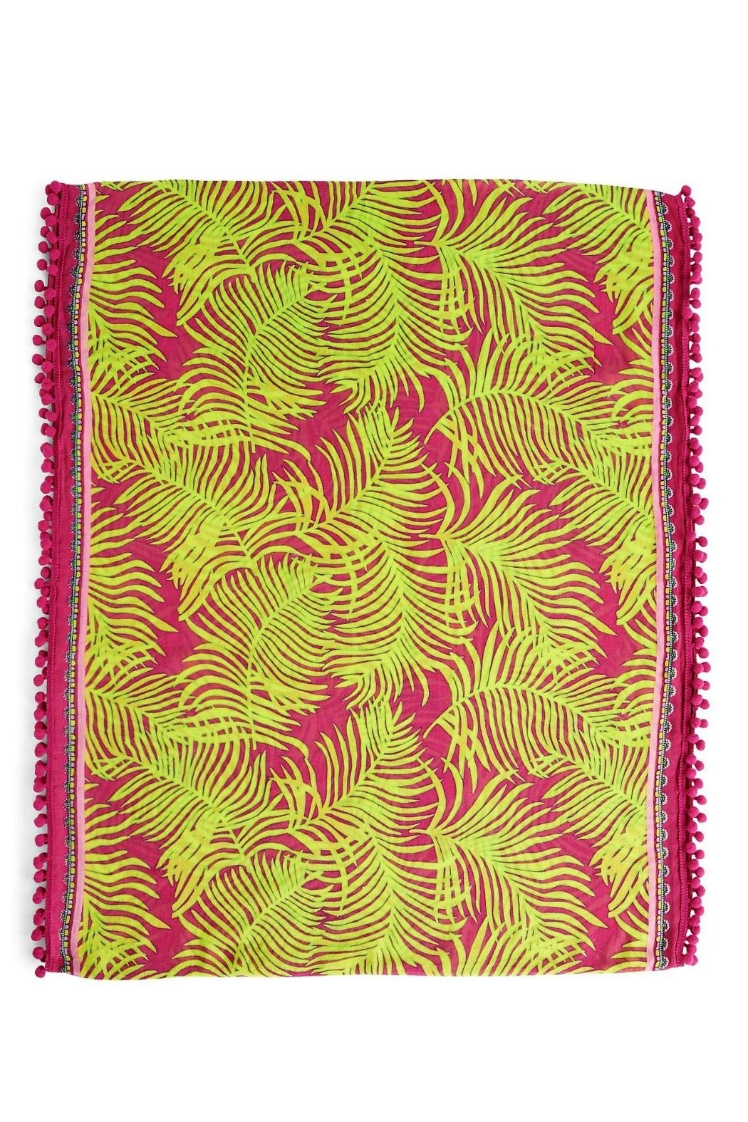 Vera Bradley Palm Fronds Infinity-Scarf - Front Full Image