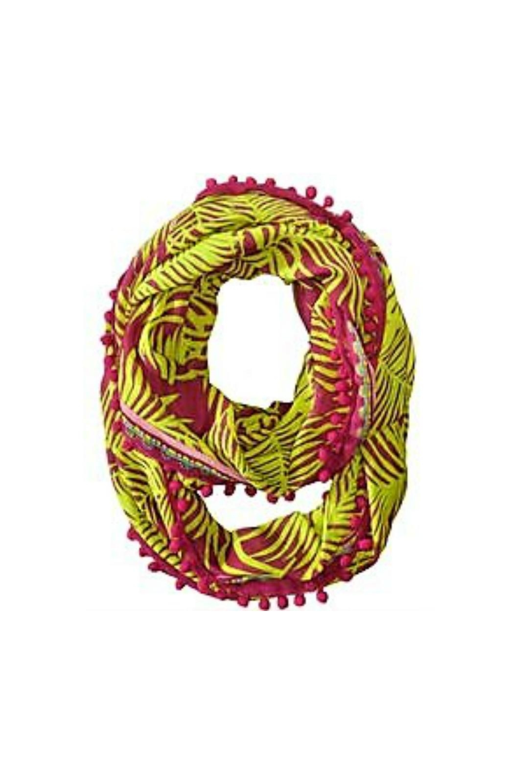 Vera Bradley Palm Fronds Infinity-Scarf - Front Cropped Image
