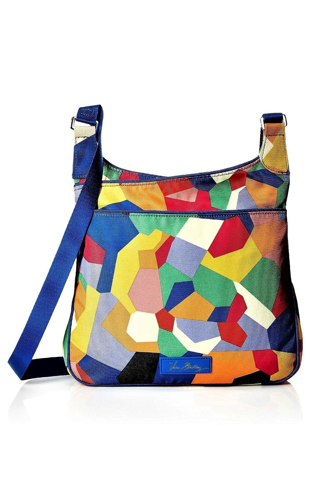 Vera Bradley Pop Art Canvas Bag - Front Cropped Image