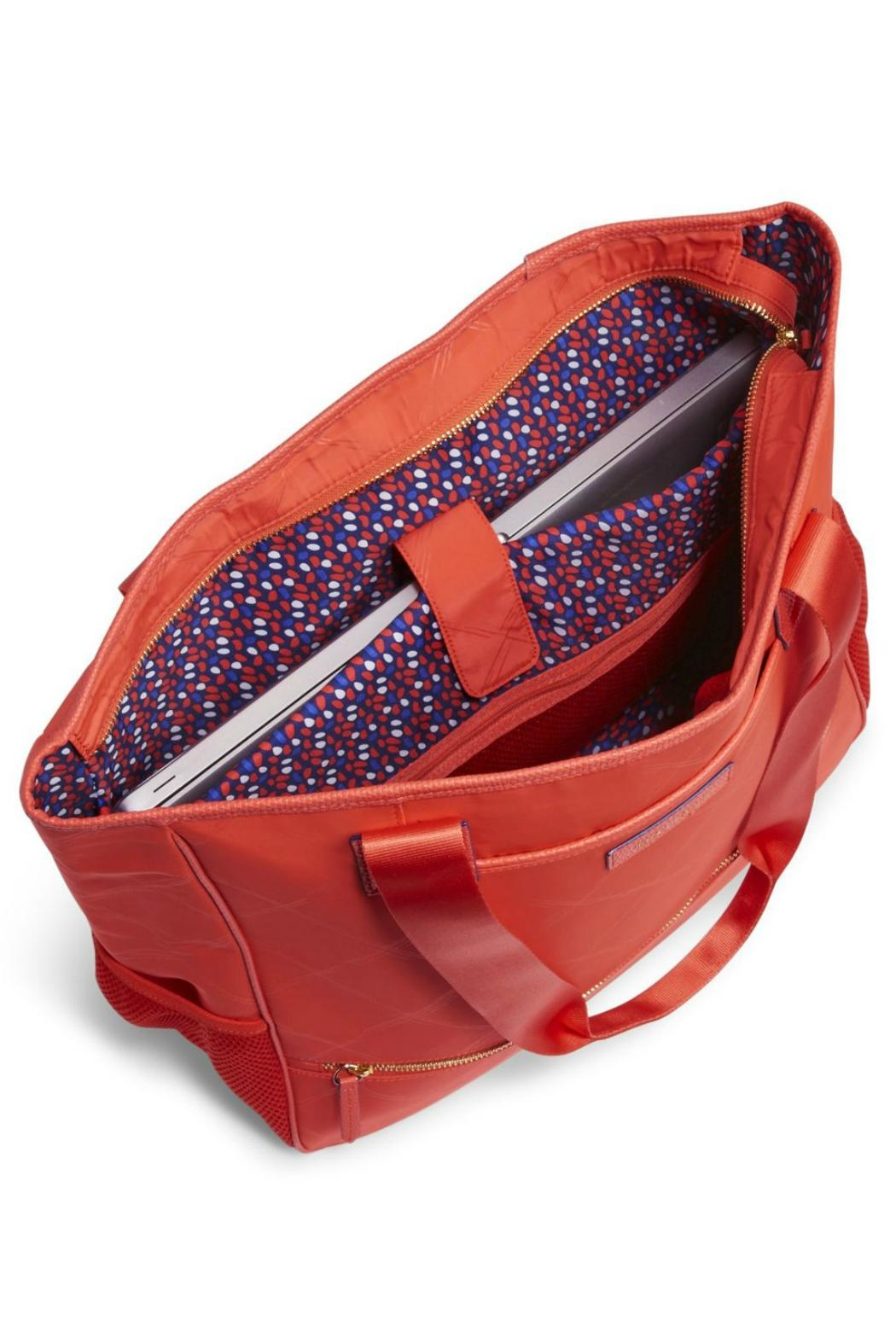 Vera Bradley Preppy-Poly No-So Tote - Back Cropped Image