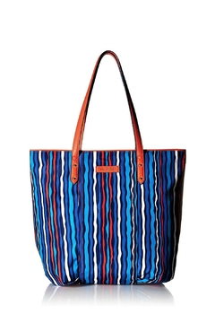 Shoptiques Product: Preppy Poly Stripe Tote