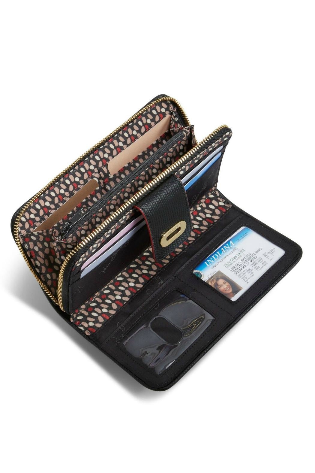 Vera Bradley Preppy Poly Wallet - Side Cropped Image