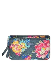 Vera Bradley Pretty Posies Deluxe-All-Together - Front cropped