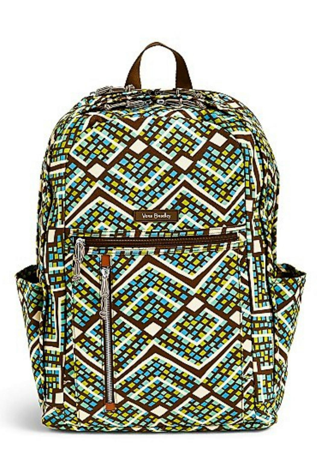 Vera Bradley Rain Forest Laptop-Backpack - Main Image