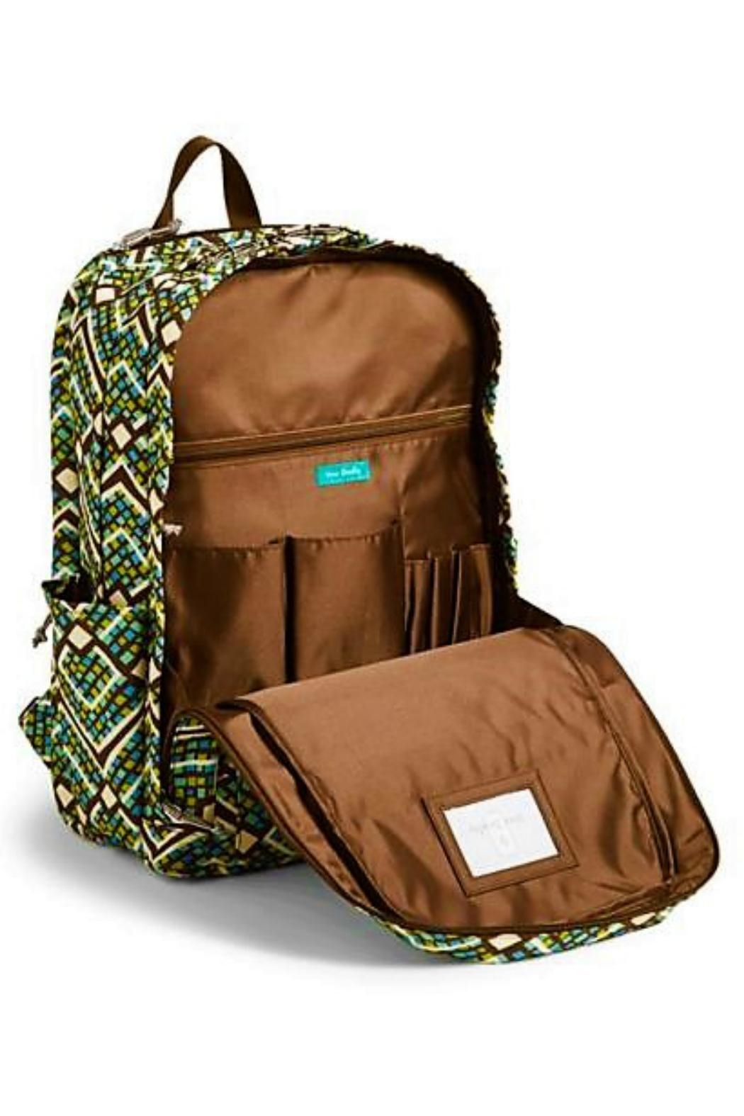 Vera Bradley Rain Forest Laptop-Backpack - Side Cropped Image