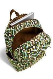 Vera Bradley Rain Forest Laptop-Backpack - Front full body