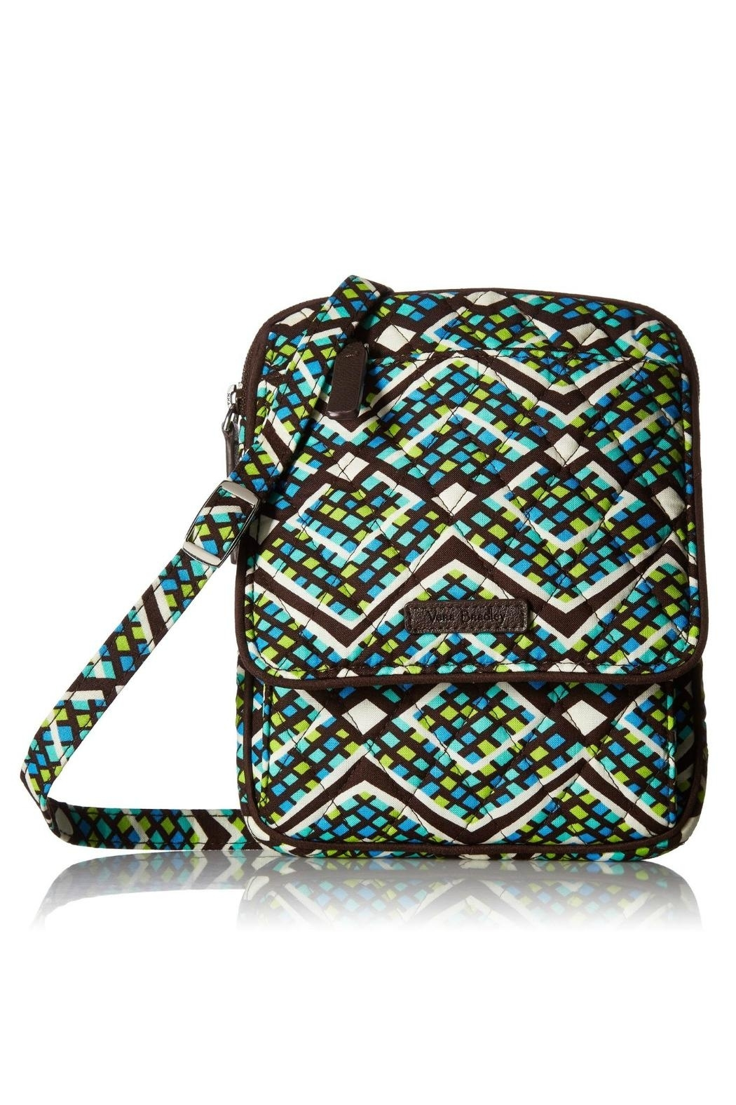 Vera Bradley Rain Forest Mini-Hipster - Front Cropped Image