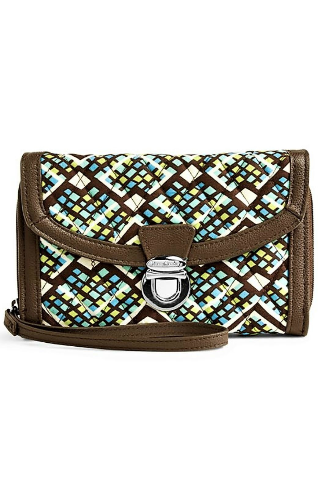 Vera Bradley Rain Forest Wristlet from Kentucky by Mimi s Gift ... 30221ae19a