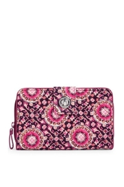 Vera Bradley Raspberry Medallion Turnlock - Product Mini Image
