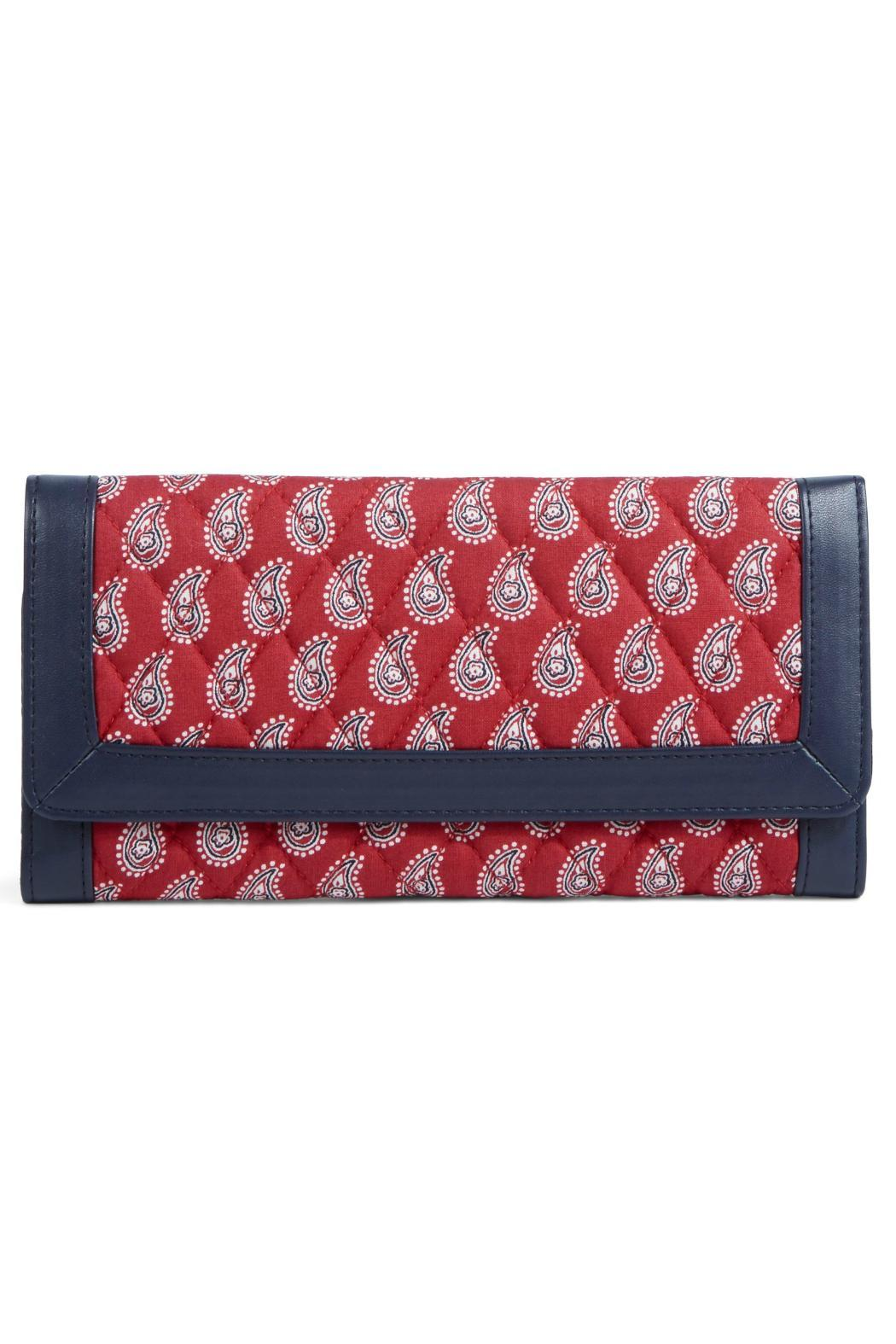 Vera Bradley Red Bandana Trifold - Front Cropped Image