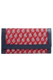 Vera Bradley Red Bandana Trifold - Product Mini Image