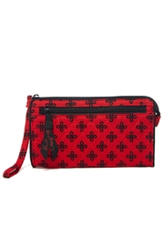 Vera Bradley Red/black Concerto Wristlet - Product Mini Image