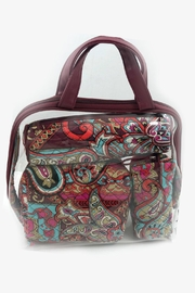 Vera Bradley Regal Paisley 4pc-Cosmetic - Front cropped