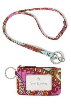 Vera Bradley Resort Medallion Lanyard/zip-Id - Alternate List Image