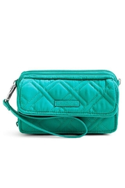 Vera Bradley All In One Turquoise Wallet - Product Mini Image