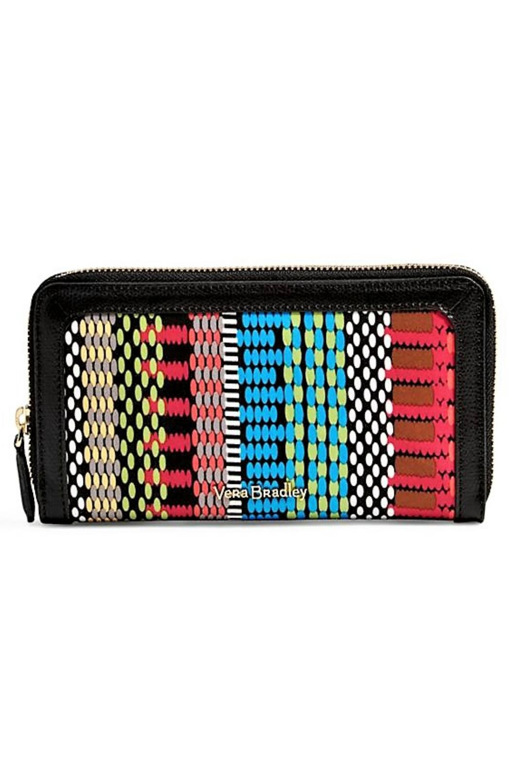 Vera Bradley Rfid Georgia Cha Wallet - Front Cropped Image
