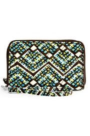 Vera Bradley Rain Forest Wristlet - Front cropped