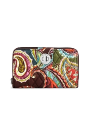 Vera Bradley Rfid Heirloom Paisley Wallet - Product Mini Image