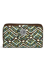 Vera Bradley Rfid Turnlock Wallet - Product Mini Image