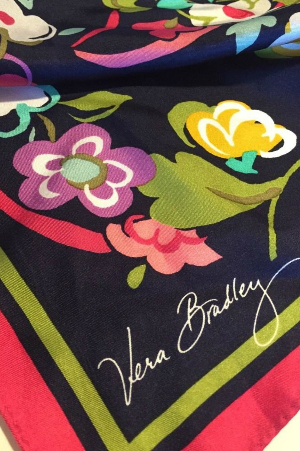 Vera Bradley Ribbons Silk Scarf - Front Full Image