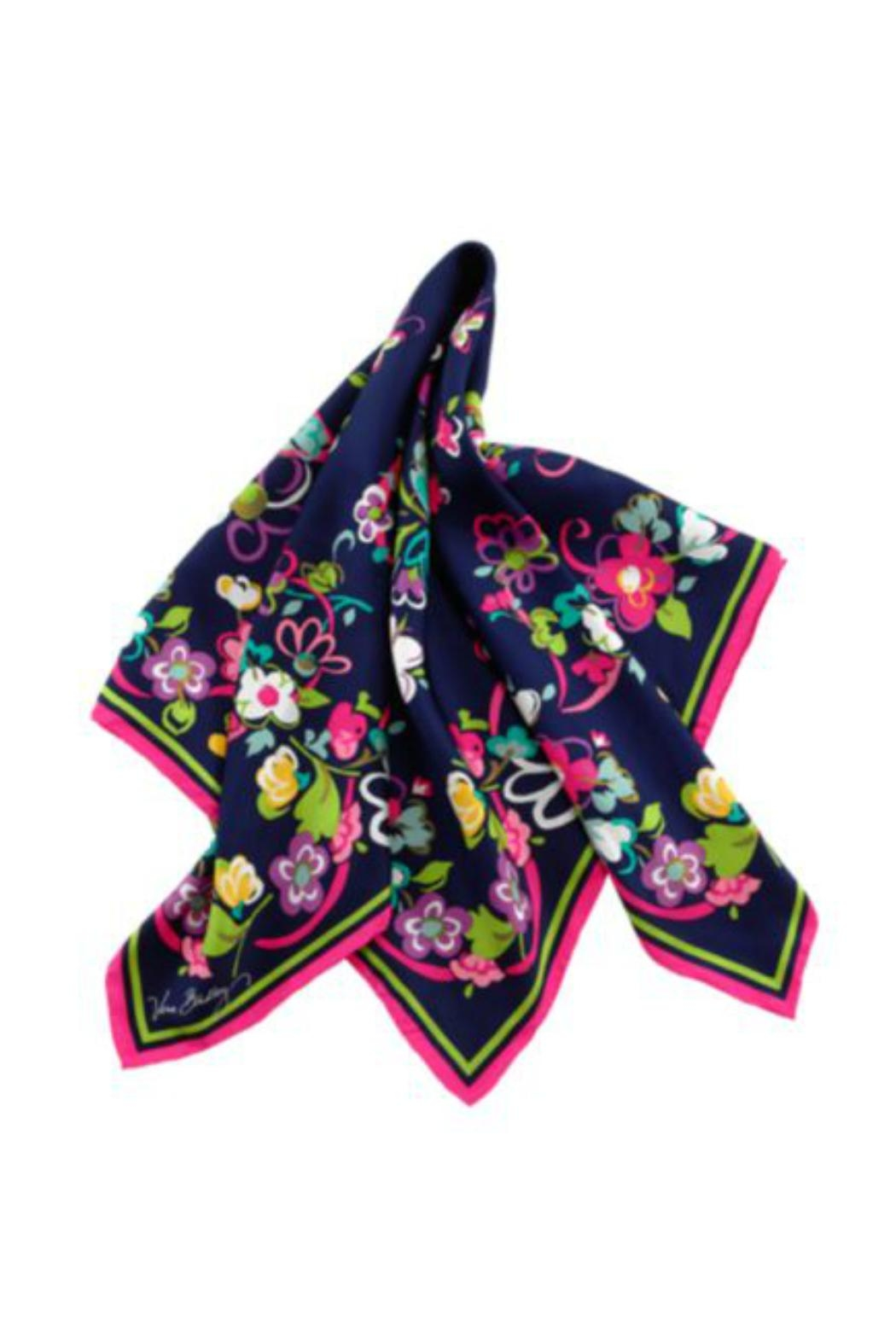 Vera Bradley Ribbons Silk Scarf - Front Cropped Image
