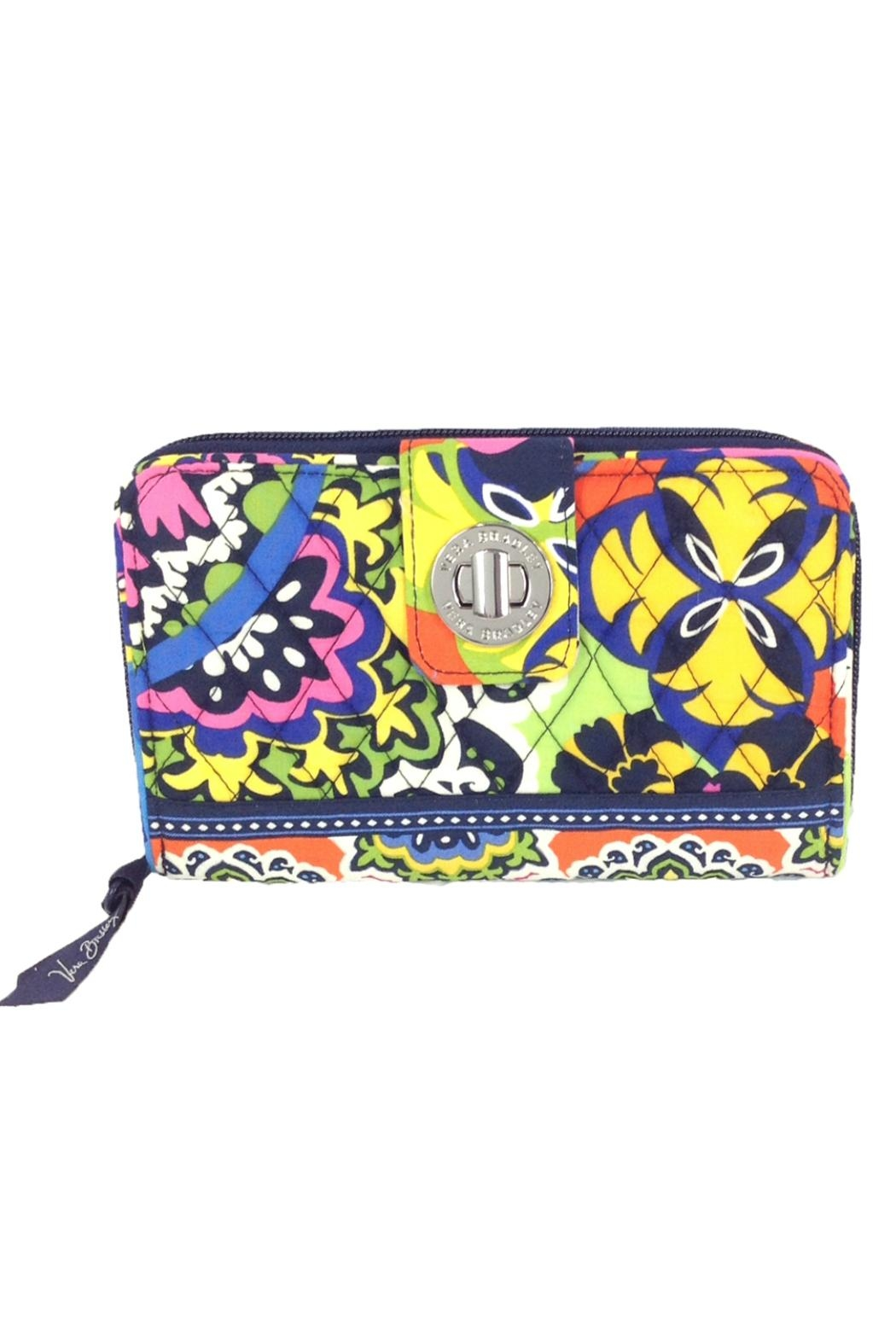 Vera Bradley Rio Turnlock Wallet - Front Cropped Image