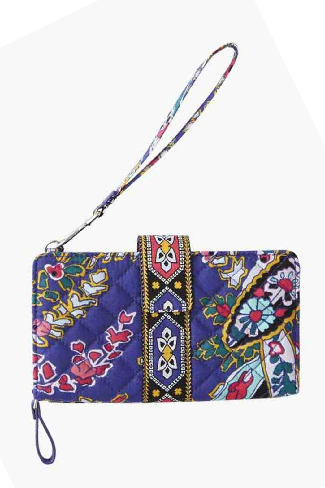 Vera Bradley Romantic Paisley Combo-Wristlet - Front Cropped Image