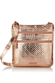 Vera Bradley Rose Gold Triple-Zip-Hipster - Front cropped