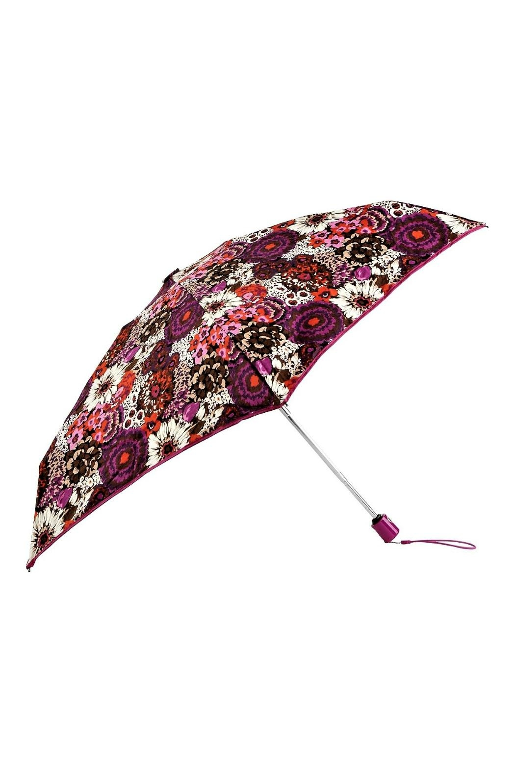 Vera Bradley Rosewood Automatic Umbrella - Front Cropped Image