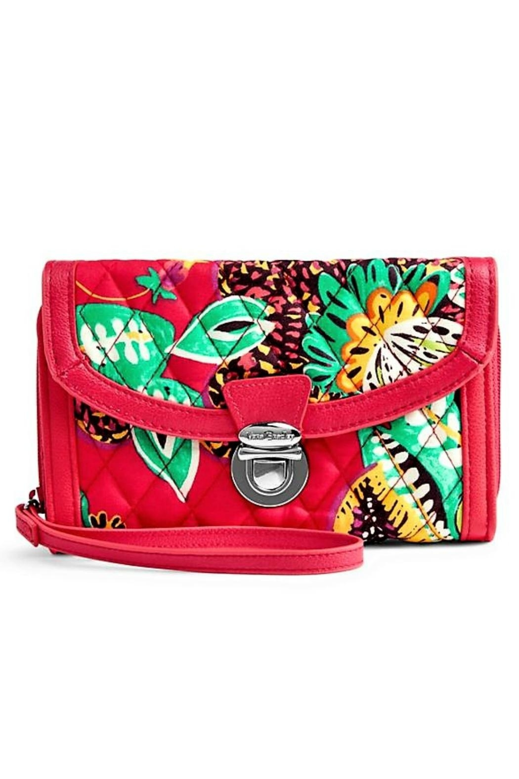 Vera Bradley Rumba Ultimate Wristlet - Front Cropped Image