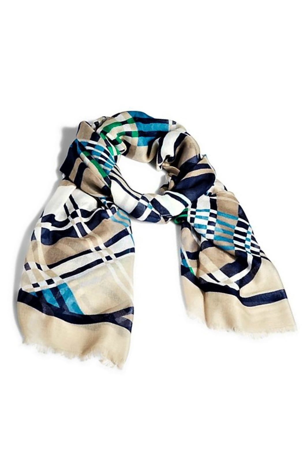 Vera Bradley Santiago Weave Scarf - Front Cropped Image