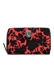 Vera Bradley Silhouette Floral Turnlock - Front cropped