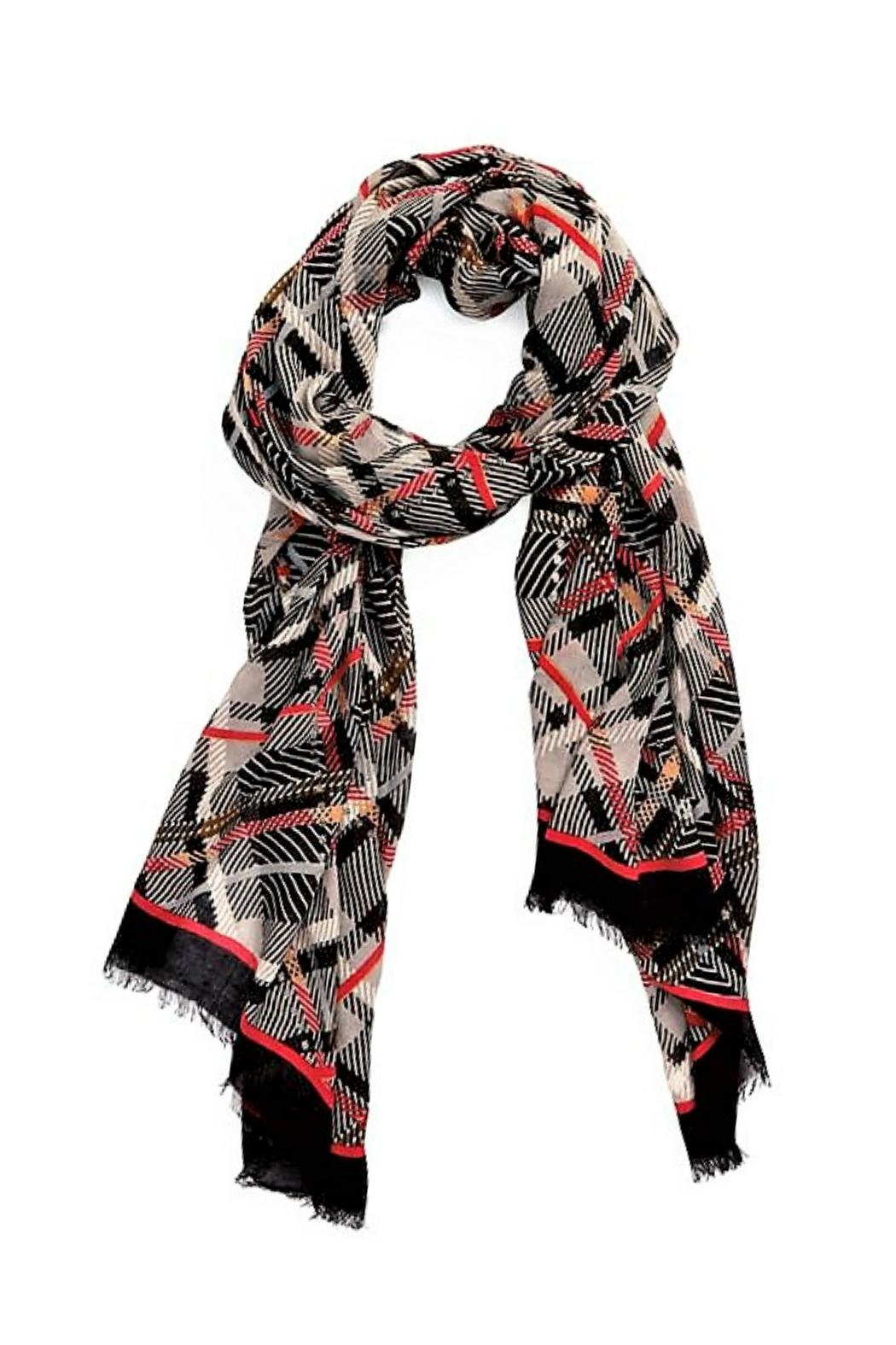 Vera Bradley Sofia Plaid Scarf - Front Cropped Image