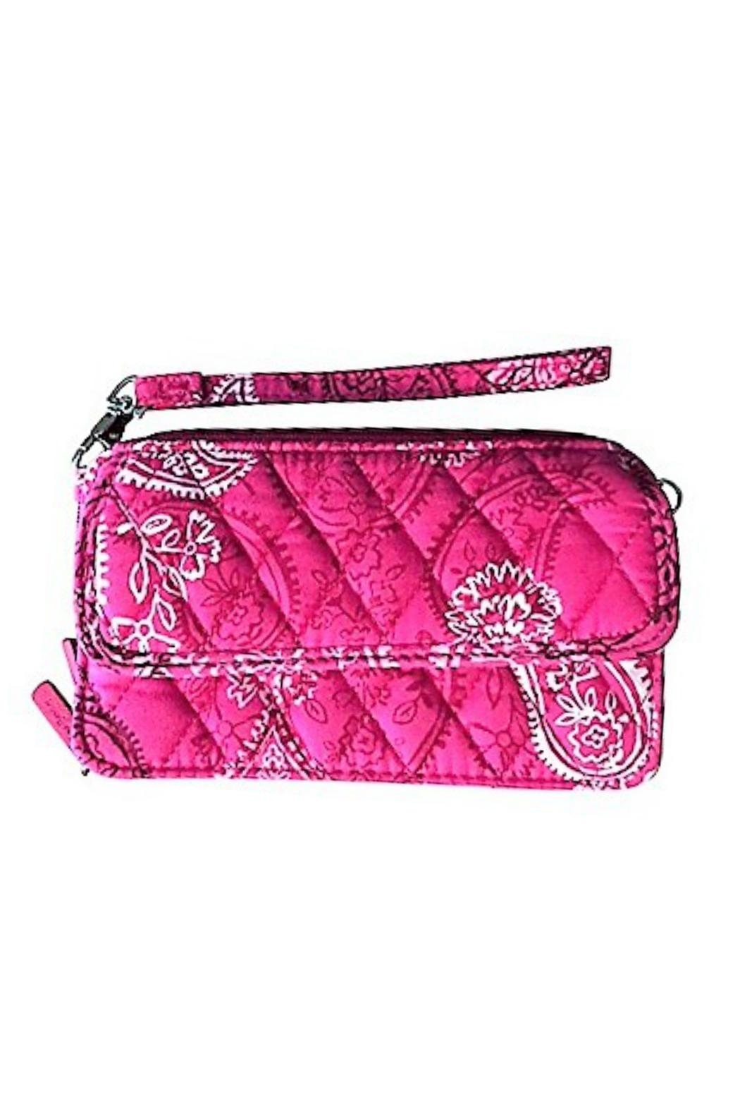 Vera Bradley Stamped Paisley All In One Crossbody - Main Image