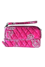Vera Bradley Stamped Paisley All In One Crossbody - Front cropped