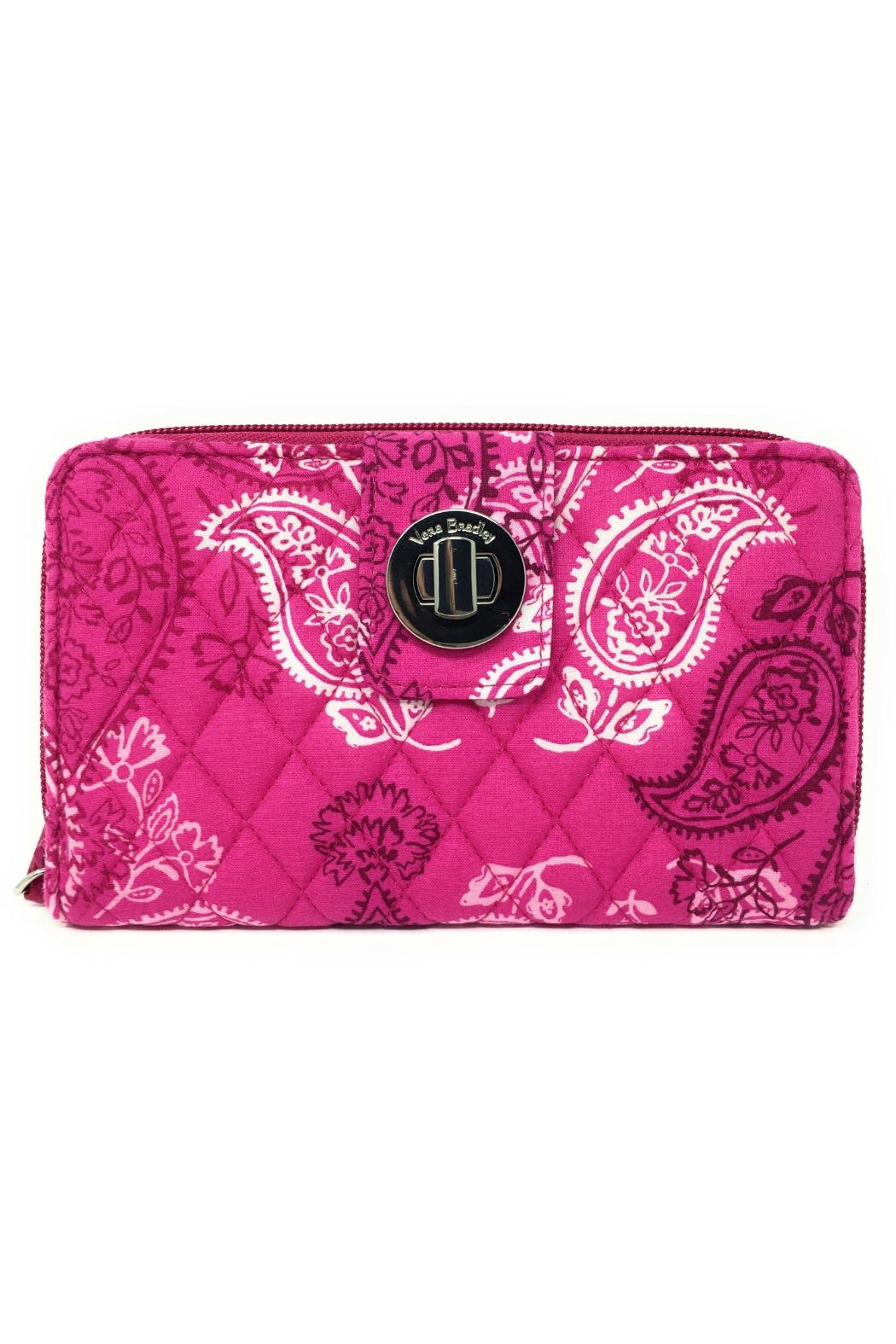 4afefa7407 Vera Bradley Stamped Paisley Turnlock-Wallet from Kentucky by Mimi s ...