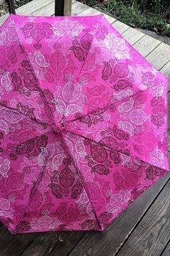 Shoptiques Product: Stamped Paisley Umbrella